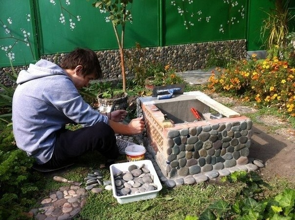 Интересные идеи для сада дачи своими руками
