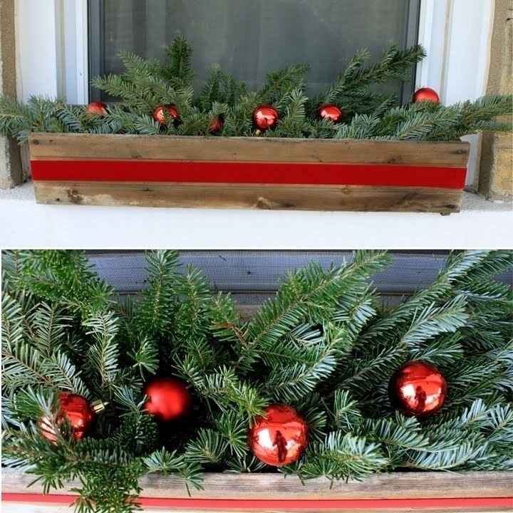 Новогодние украшения для балкона - тристан.