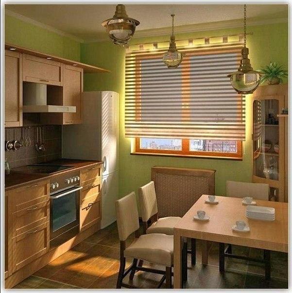 Сделать ремонт на маленькой кухне своими руками фото 138
