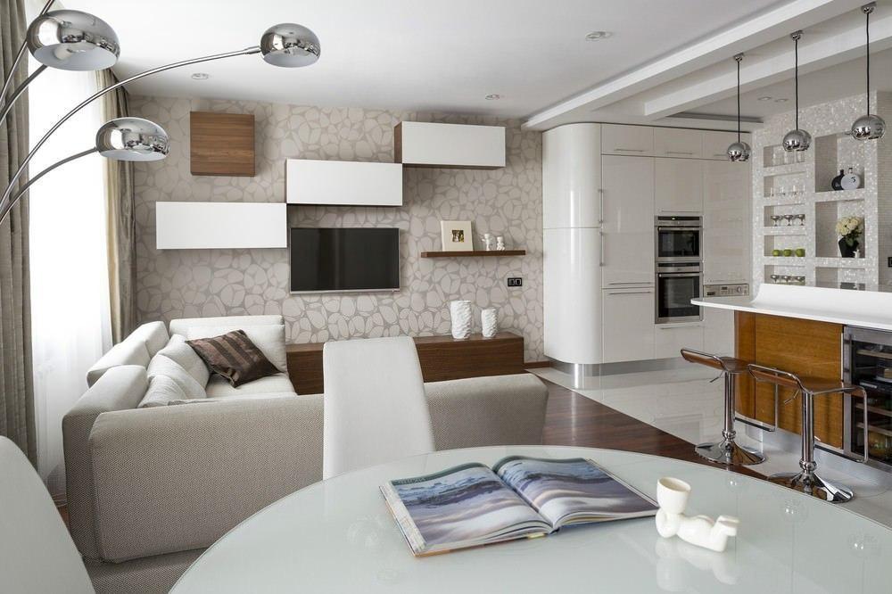 Дизайн 1 комнатной квартиры 2015 современные идеи