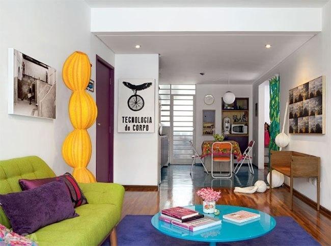 Дизайн квартир цветное