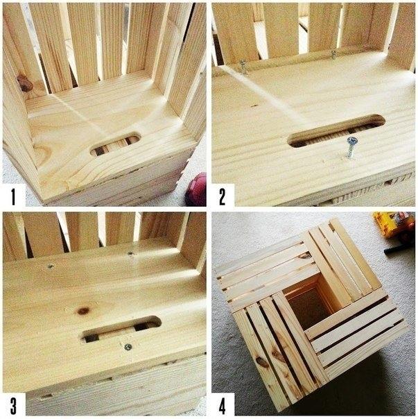 Как сделать банкетку из дерева